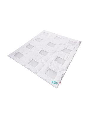 Одеяло BODY CLIMAT SQUARE (полуторное) 140*205см. SLEEP FITNESS. Цвет: белый