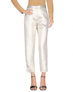 Повседневные брюки TARA JARMON. Цвет: белый