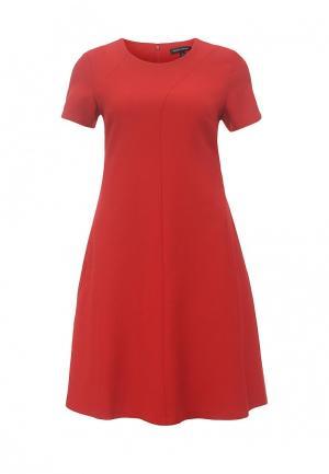 Платье Banana Republic. Цвет: красный