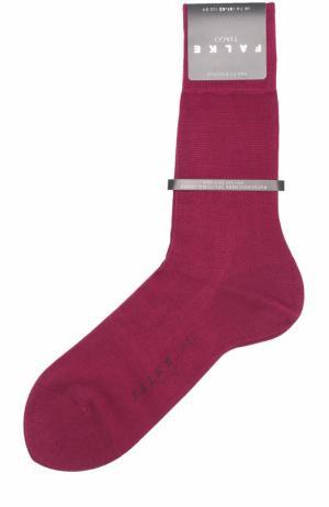 Хлопковые носки Tiago Falke. Цвет: бордовый