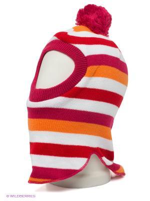 Капор Maxval. Цвет: малиновый, белый, красный, оранжевый