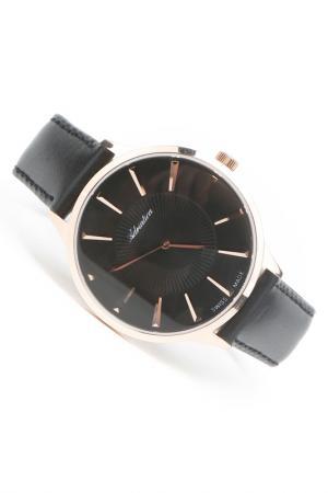 Часы наручные Adriatica. Цвет: черный, розовый