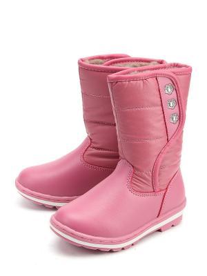 Сапоги KENKA. Цвет: розовый