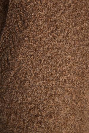 Бежевые брюки из кашемира Addicted. Цвет: бежевый