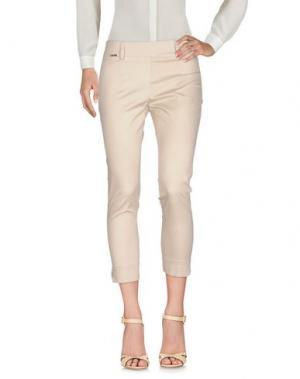 Повседневные брюки W LES FEMMES. Цвет: бежевый