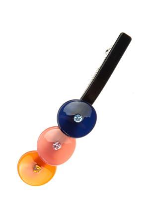 Заколка для волос Pretty Mania. Цвет: черный, оранжевый, розовый, синий