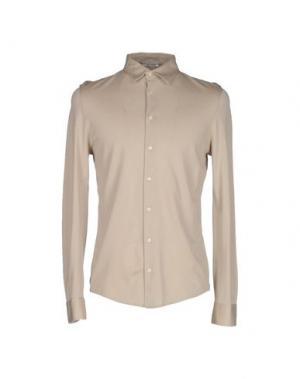 Pубашка GRAN SASSO. Цвет: песочный