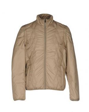 Куртка CONTE OF FLORENCE. Цвет: бежевый
