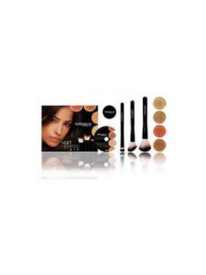 Bellapierre cosmetics FS003 Стартовый набор для макияжа Dark. Цвет: черный