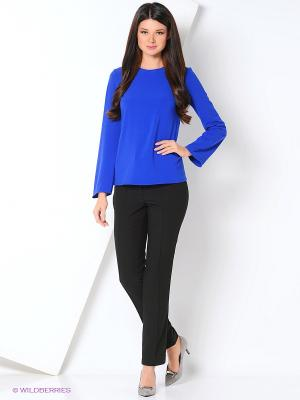 Блуза DEMURYA. Цвет: темно-синий