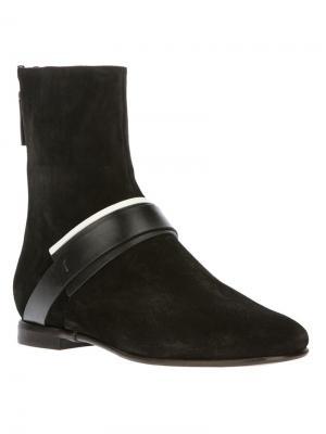 Ботинки Carritz. Цвет: чёрный