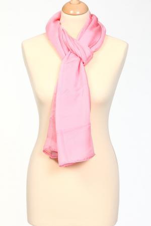 Палантин Leonard. Цвет: розовый жаккардовый