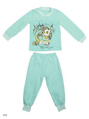 Пижамы Flip. Цвет: серо-зеленый