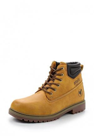 Ботинки Urban League. Цвет: коричневый