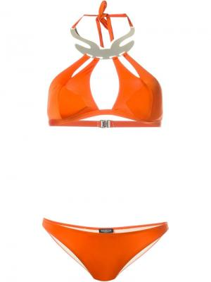 Бикини Sharon Moeva. Цвет: жёлтый и оранжевый