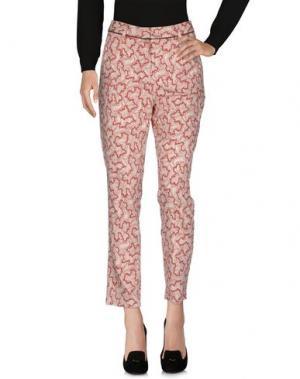 Повседневные брюки INDI & COLD. Цвет: кирпично-красный