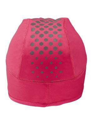 Шапка WINTER BEANIE ASICS. Цвет: розовый, серый