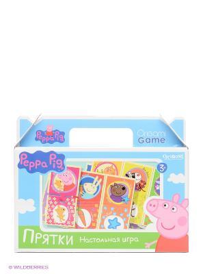 Настольная игра Прятки Peppa Pig. Цвет: голубой