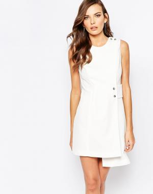 Finders Keepers Цельнокройное платье в стиле 60-х. Цвет: мульти
