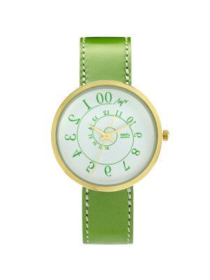 Часы наручные ЛУЧ.. Цвет: салатовый