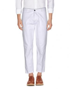Повседневные брюки DEPARTMENT 5. Цвет: белый