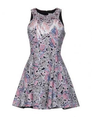 Короткое платье PETER PILOTTO. Цвет: розовый
