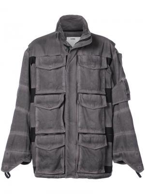Полевая куртка Aux Rackam G-Star Raw Research. Цвет: серый