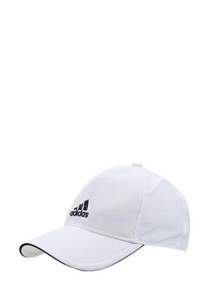 Бейсболка adidas. Цвет: белый