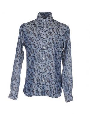 Pубашка DANDYLIFE by BARBA. Цвет: грифельно-синий