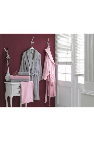 Семейный банный набор, 6 пр. Marie claire. Цвет: pink, grey