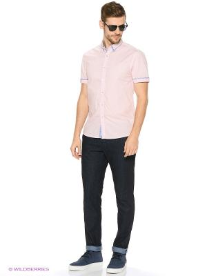 Рубашка Reserved. Цвет: светло-оранжевый