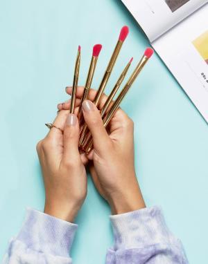 Skinnydip Набор кистей для макияжа. Цвет: бесцветный