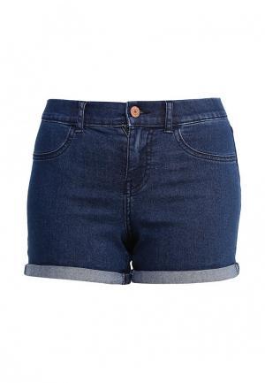 Шорты джинсовые Noisy May. Цвет: синий