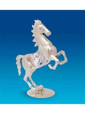Фигурка Лошадь посеребр. Юнион. Цвет: серебристый