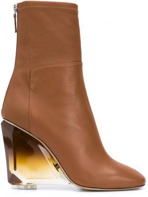 Ботинки Parker Monique Lhuillier. Цвет: коричневый