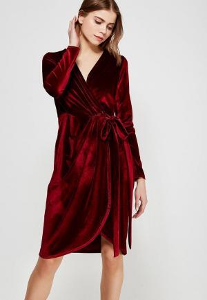 Платье Nastasia Sabio. Цвет: бордовый