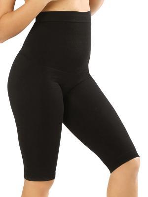 Пояс-панталоны бесшовный послеродовой ФЭСТ. Цвет: черный