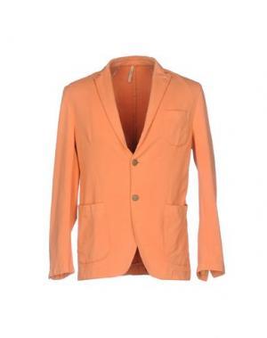 Пиджак DOMENICO TAGLIENTE. Цвет: оранжевый