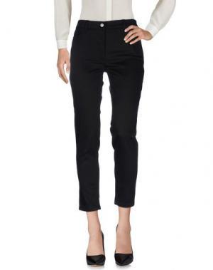 Повседневные брюки JEREMY SCOTT. Цвет: черный
