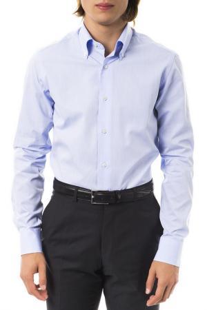 Рубашка Pierre Balmain. Цвет: синий