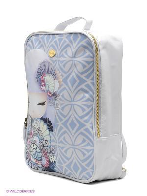 Сумка-рюкзак Айри Kimmidoll. Цвет: сиреневый, белый, синий