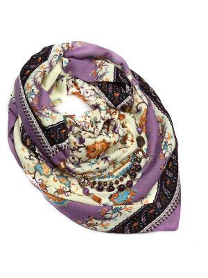 Платок FOXTROT. Цвет: фиолетовый