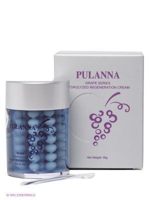 Увлажняющий антистрессовый крем PULANNA. Цвет: серый