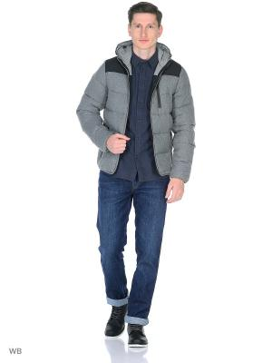Куртка DOWN JACKET Wrangler. Цвет: серый