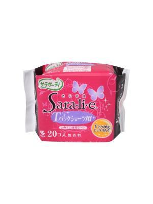 Pure Cotton Ежедневные гигиенические прокладки (для трусиков танга) 20 шт. KOBAYASHI. Цвет: прозрачный