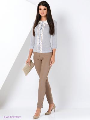 Блуза Ksenia Knyazeva. Цвет: серый