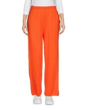Повседневные брюки AKEP. Цвет: оранжевый
