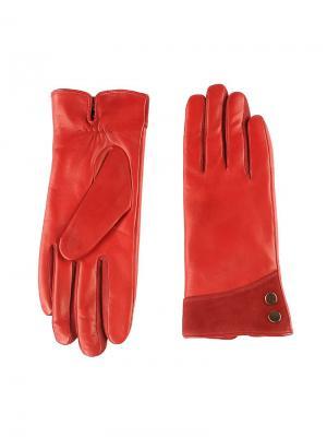 Перчатки женские Piero. Цвет: темно-красный