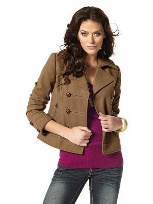 Пальто Laura Scott. Цвет: коричневый