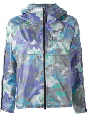 Спортивная куртка Adidas By Stella Mccartney. Цвет: многоцветный